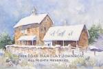 Ardrossan-Hope\'s Barn in Winter