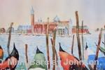 Venice-Gondolas Guarding