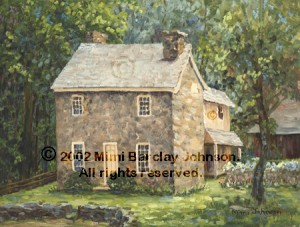 The Miller's Cottage - Newlin Mill, Chadds Ford PA